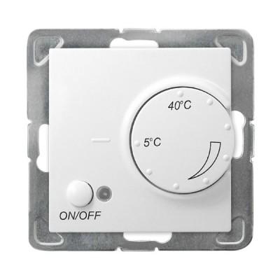 Regulator temperatury z czujnikiem podpodłogowym IMPRESJA BIAŁY