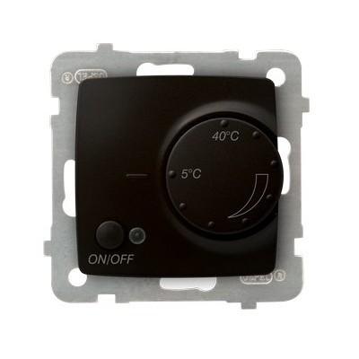 Regulator temperatury z czujnikiem napowietrznym KARO CZEKOLADOWY METALIK